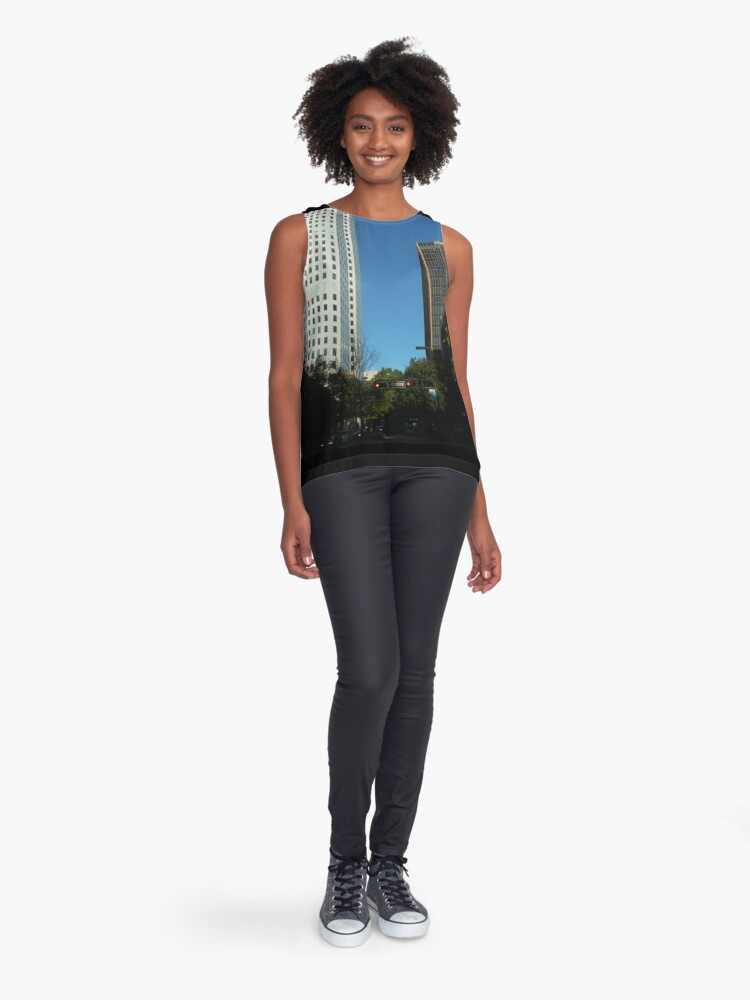 Alternate view of Engulfed in the Scene Sleeveless Top