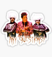 David S. Pumpkins - Any Questions? V - Sticker Sticker
