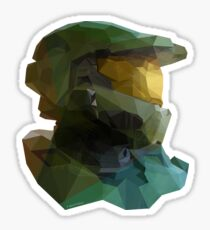 Low Poly Master Chief Sticker