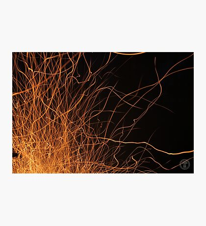 Sparks Fly Photographic Print