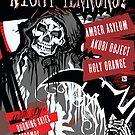 Poster for Deathrock Night Terrors II   Grim Reaper by caseycastille