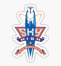 Sky High Logo Sticker