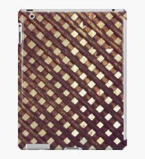 Grate iPad Case/Skin