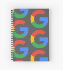 Google Alphabet Spiral Notebook