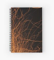 Sparks Fly Spiral Notebook