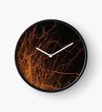 Sparks Fly Clock
