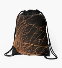 Sparks Fly Drawstring Bag