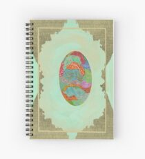 Fabric - The Qalam Series Spiral Notebook