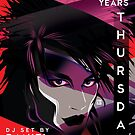 Poster for 80s Thursdays 15 Year Anniversary   Daniel Ash by caseycastille