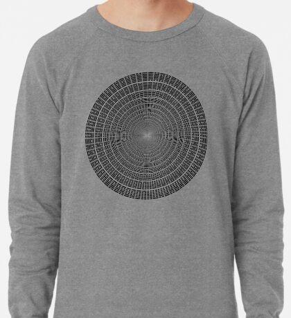 I Ching Hexagrams Circle 002 Lightweight Sweatshirt