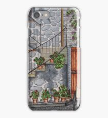 Ancient Grey Stone Residence iPhone Case/Skin