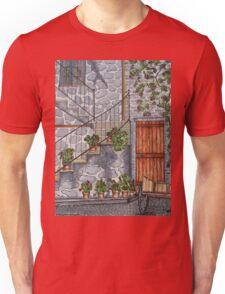 Ancient Grey Stone Residence Unisex T-Shirt