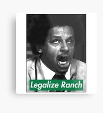 Eric Andre - Legalize Ranch - Green Metal Print