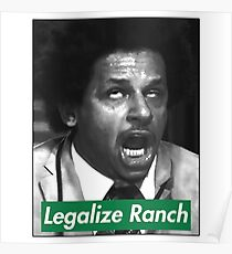 Eric Andre - Legalize Ranch - Green Poster
