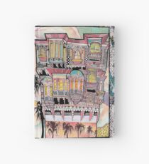 Palm Trees and Havelis Hardcover Journal