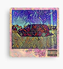 Abstract Good Kid Maad City Metal Print