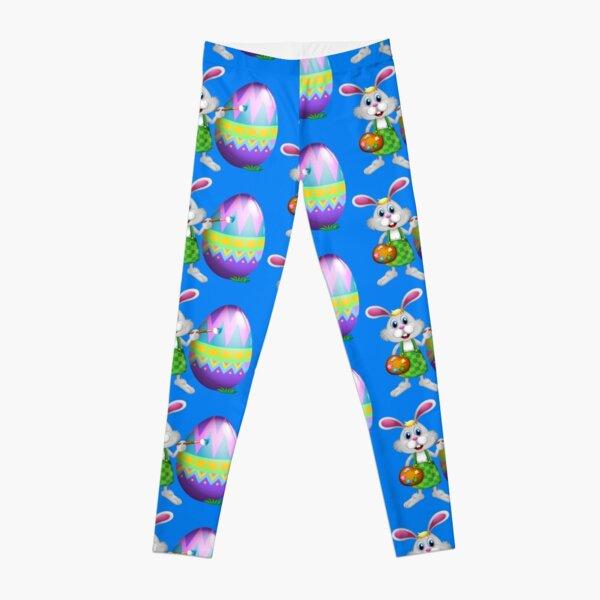 easter gift easter leggings Bunny print leggings ladies gift women printed leggings