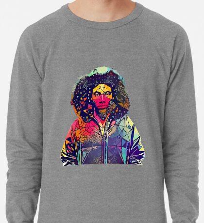 Abstract Hooded Gambino Lightweight Sweatshirt