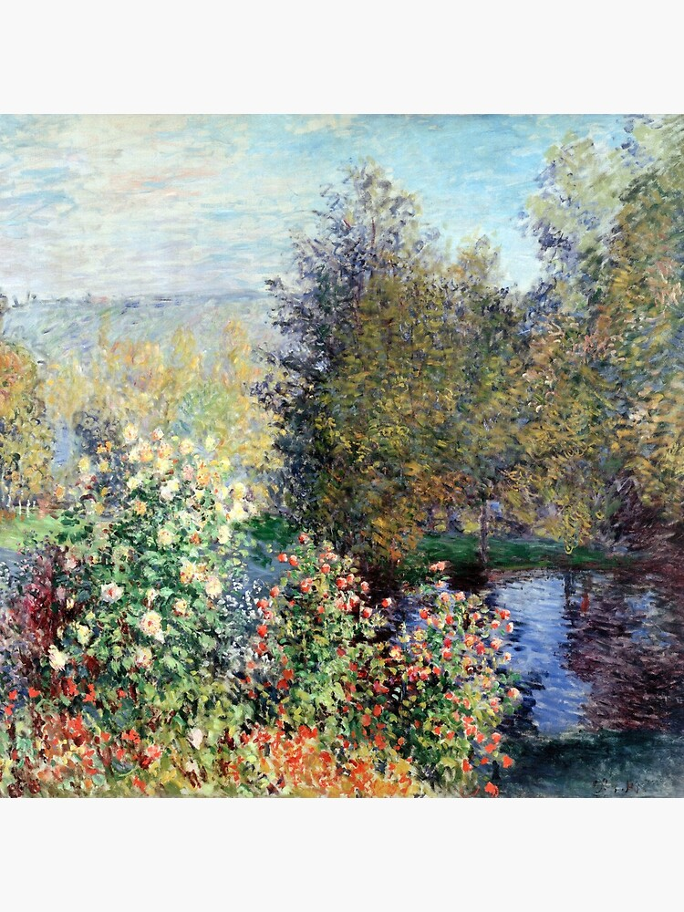 Claude Monet Corner of the Garden at Montgeron by pdgraphics