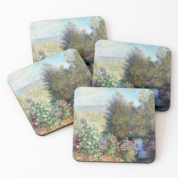 Claude Monet Corner of the Garden at Montgeron Coasters (Set of 4)