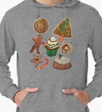 Christmas goodies Lightweight Hoodie
