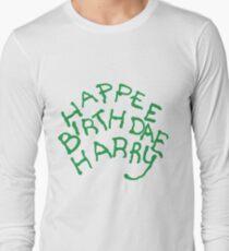Happee Birthdae Harry Long Sleeve T-Shirt