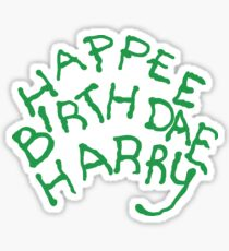 Happee Birthdae Harry Sticker