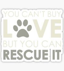 Rescue Love Sticker