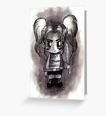 chibi H.Q. Greeting Card