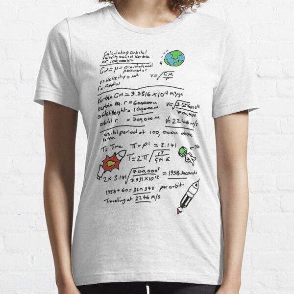 Kerbal Orbit Science 1 Essential T-Shirt