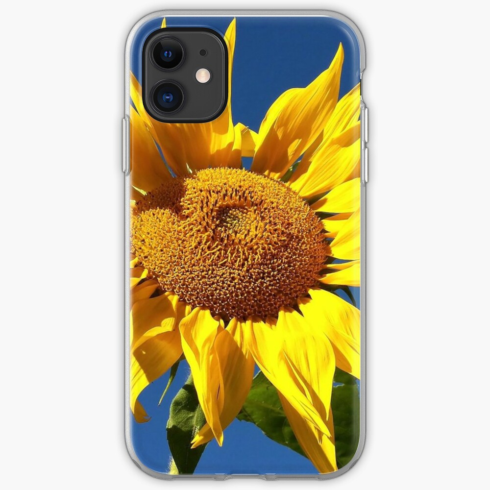 Sunflower and Blue Sky iPhone Case & Cover