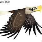 White-tailed Eagle caricature by rohanchak