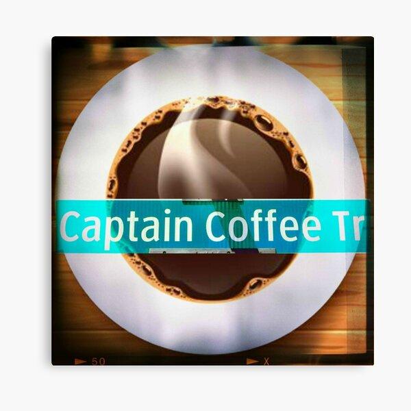 Captain Coffee Trail Canvas Print