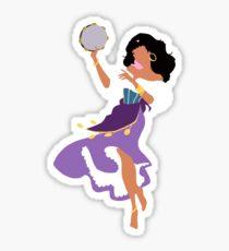 Minimalistic Esmeralda Sticker