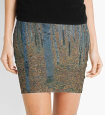 Gustav Klimt Beech Grove Mini Skirt