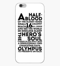 Percy Jackson and the Olympians - The Great Prophecy  iPhone Case