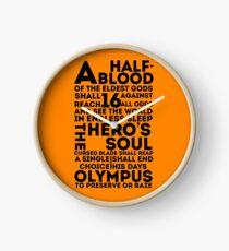 Reloj Percy Jackson y los atletas olímpicos: la gran profecía
