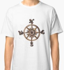 Wheel - Nautical Art Classic T-Shirt