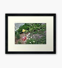 hidden fairies Framed Print