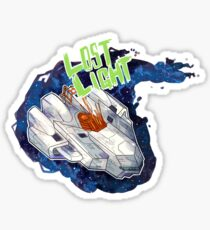 Lost Light  Sticker