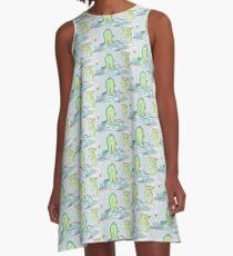 Sea Serpant A-Line Dress