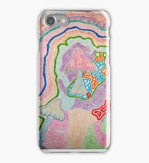 psychedelic shrooms iPhone Case/Skin
