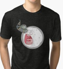 A Rick To The Moon Tri-blend T-Shirt