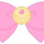 Pastel Sailor Moon Locket with bow by Anzadesu