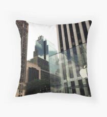 Apple Store New York Throw Pillow