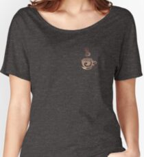 Watercolor Coffee Women's Relaxed Fit T-Shirt
