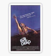 Evil Dead Poster Sticker