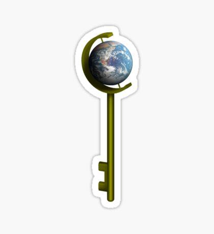 Gaia, Our Home Sticker