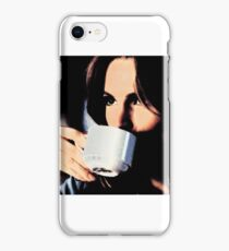 Stana Katic Coffee iPhone Case/Skin
