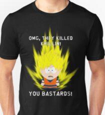OMG They Killed Krillin Slim Fit T-Shirt
